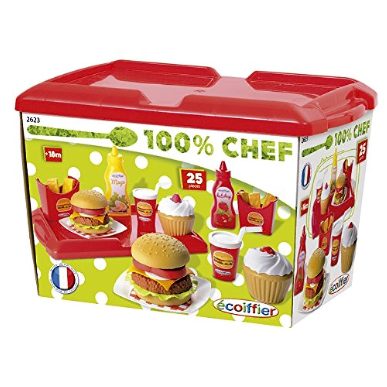 Ecoiffierハンバーガーセット