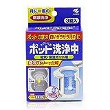 ポット洗浄中 電気・保温ポット用洗浄剤 ポットの底のザラザラ汚れに 3錠