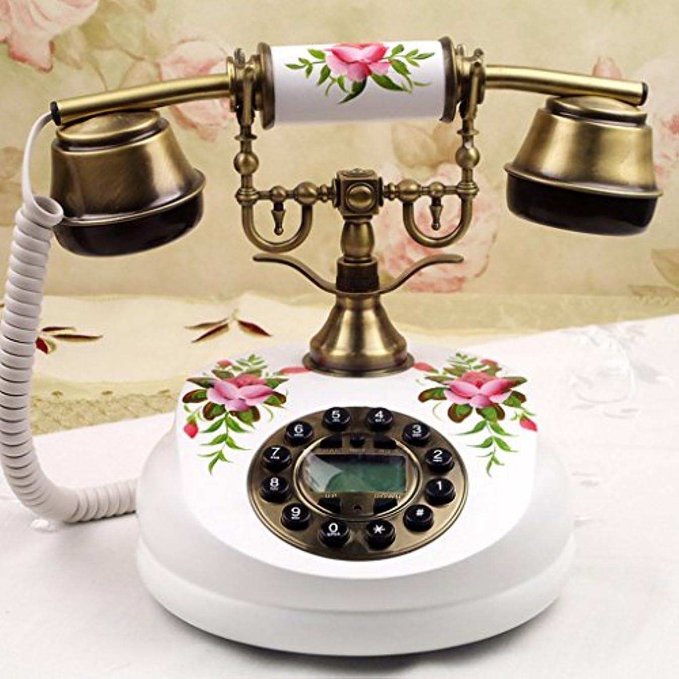 擁するバブルフォアマンWvfguj アンティーク電話、ヨーロッパ/木製の庭の創造電話18x22cm