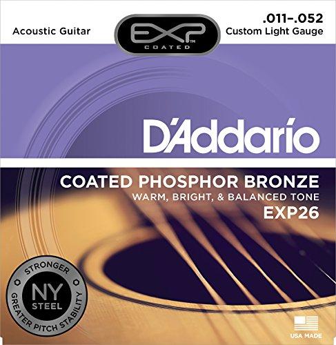 アコースティックギター弦おすすめ人気ランキング10選!素材と太さで音がこんなに変わる?!特徴も比較の画像
