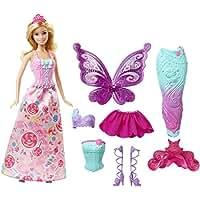 [バービー]Barbie Fairytale Dress Up Doll DHC39 [並行輸入品]