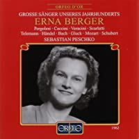 Erna Berger/Song Recital - エルナ・ベルガー:歌曲を歌う [Import]