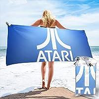 Atari アタリ バスタオル 湯上げタオル 速乾吸水タオル マイクロファイバー 肌触り良い 海水浴 家庭用 旅行 水泳 スポーツ 速乾タオル 70×140cmサイズ/ 80×160cmサイズ