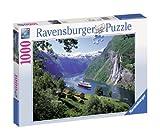 1000ピース ジグソーパズル  ノルウェーのフィヨルド Norwegischer Fjord  (70 x 50 cm)