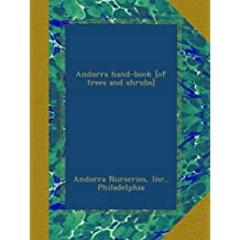 Andorra hand-book [of trees and shrubs]