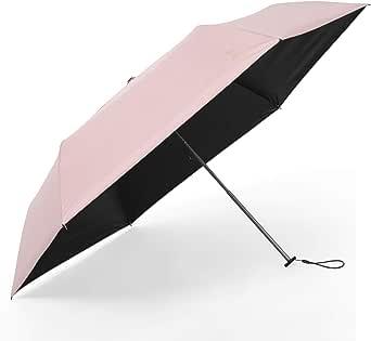 日傘 超軽量(135g) 折りたたみ傘 UVカット 遮光 遮熱 晴雨兼用 折り畳み日傘 300T 高強度カーボンファイバー 収納ポーチ付き