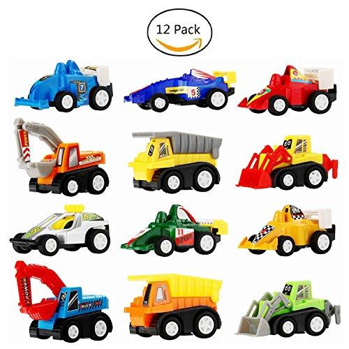 LEHIIトミカ ミニカート12台 セットミカ ミニカー カーズ 車おもちゃト建設車両 作業車両子供...