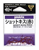 がまかつ(Gamakatsu) ショットキス(赤) 7号