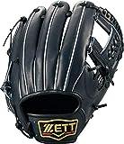 ゼット(ZETT) 硬式野球 プロステイタス グラブ (グローブ) セカンド・ショート用 ナイトブラック(1900N) 右投げ用 日本製 BPROG640