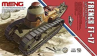 モンモデル 1/35 フランス軽戦車ルノーFT-17鋳造砲塔