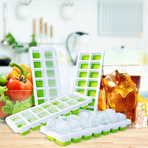 TOPELEK 製氷皿 フタ付き アイストレー シリコン