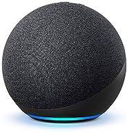 【新型】Echo (エコー) 第4世代 - スマートスピーカーwith Alexa - プレミアムサウンド&スマートホームハブ、チ