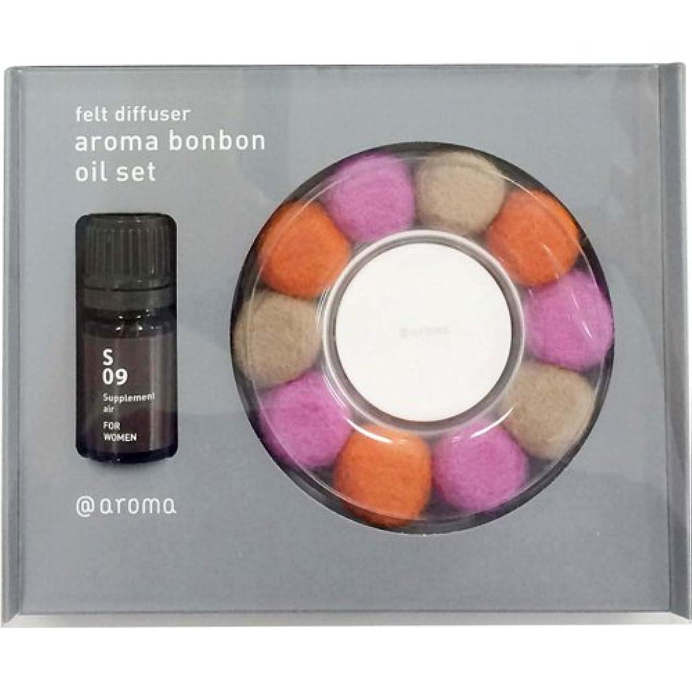うねる電池貫通するアロマボンボンセット #03&FOR WOMEN