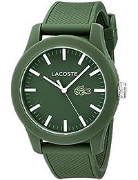 [ラコステ]Lacoste 腕時計 Lacoste.12.12 Green Resin Watch with Silicone Band 2010763 メンズ [並行輸入品]