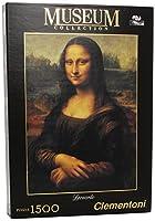 """(Mona Lisa - Da Vinci) - Clementoni""""Leonardo - Mona Lisa"""" Puzzle (1500 Piece)"""