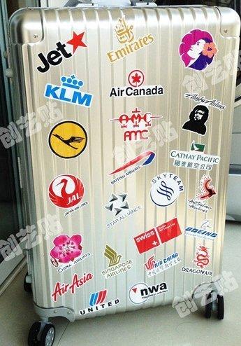 航空 旅行 ステッカー シール 30枚セット スーツケース ...