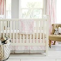 New Arrivals Cross My Heart 2 Piece Crib Bedding Set [並行輸入品]