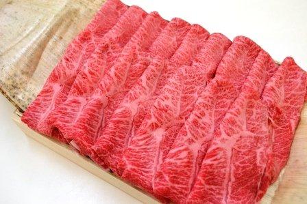 松阪牛 霜降りすき焼き用 約450g 桐化粧箱入り ギフト