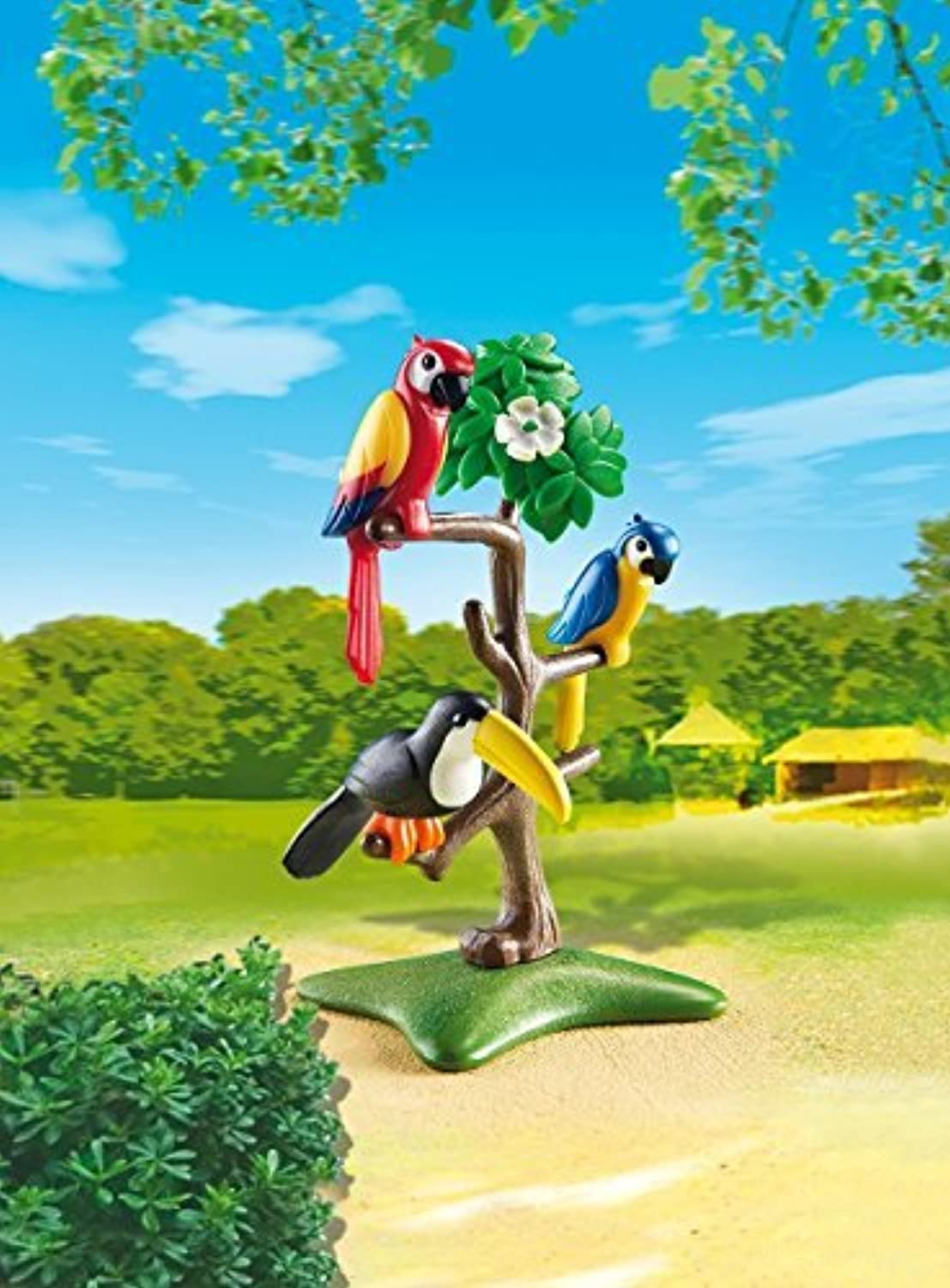 PLAYMOBIL 6653 Parrots and toucan by PLAYMOBIL [並行輸入品]