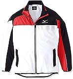 (ミズノ)MIZUNO テニスウエア ウインドブレーカーシャツ [ユニセックス] 62JE6511 62 チャイニーズレッド S