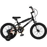 DOPPELGANGER(ドッペルギャンガー) 子ども用自転車 DUB STACKシリーズ DX16-BK 16インチ ブラック 適応身長目安:100cm~