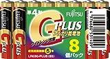 富士通 アルカリ乾電池 単4形 8個パック LR03G-PLUS(8S)
