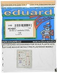 エデュアルド 1/48 IAI クフィルC7 ステンレス製シートベルト (アヴァンギャルドモデルキット用) プラモデル用パーツ EDUFE1047