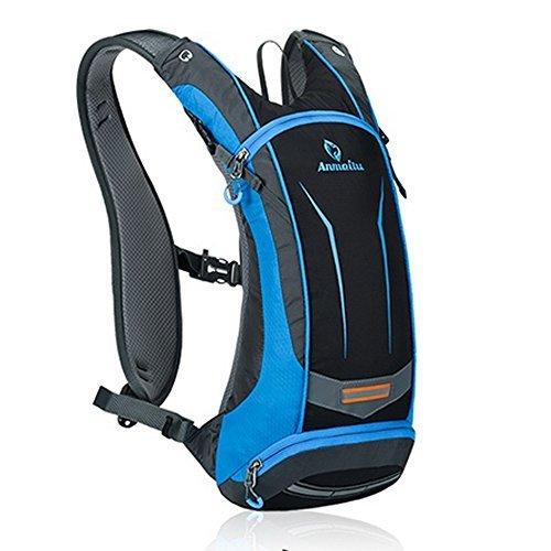 Paladineer(パラディニア) サイクリングバッグ 超軽量 自転車バックパック リュック 8L ブルー