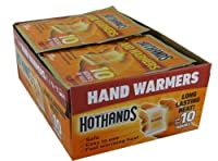 HotHands Hand Warmers plus 1 FREE SAMPLE Body & Hand Super Warmer by HotHands