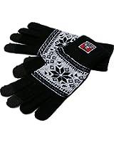(ベンデイビス) BEN DAVIS 手袋 メンズ スマホ対応 スマートフォン対応 雪柄 チェッカー柄 ノルディック柄 タグ 4color