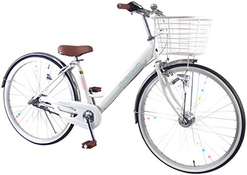 C.Dream(シードリーム) フェリシア 3段変速付 V636H 26インチ 子供自転車 ホワイト 100%組立済み発送 C.Dream