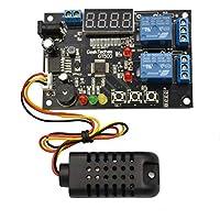 Saikogoods センサーY9D4が付いている黒いGt500 1セットの温度そして湿気制御モジュール 黒