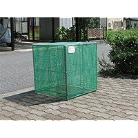折り畳み式ゴミ収集箱W600D650H650【ゴミ回収BOX】 (ステンレス)