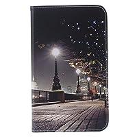 Samsung Galaxy Tab 47.0ケースt230ケース、太陽光Enjoy PUレザーフリップケース[カードスロットケース]スタンドスマートカバー[自動スリープ・ウェイク] for Samsung Galaxy Tab 47.0SM - t230nu