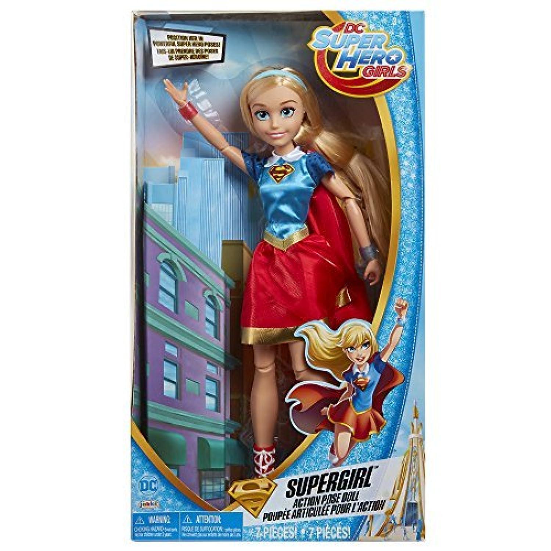 DC Super Hero Girls Supergirl Action Pose Doll [並行輸入品]
