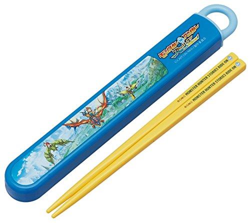 スケーター 箸 箸箱 セット スライド式 16.5cm モン...