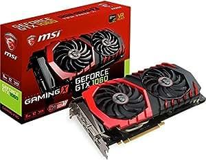 MSI NVIDIA Pascalアーキテクチャ採用 GeForce GTX 1060 グラフィックボード GEFORCE GTX 1060 GAMING X 6G