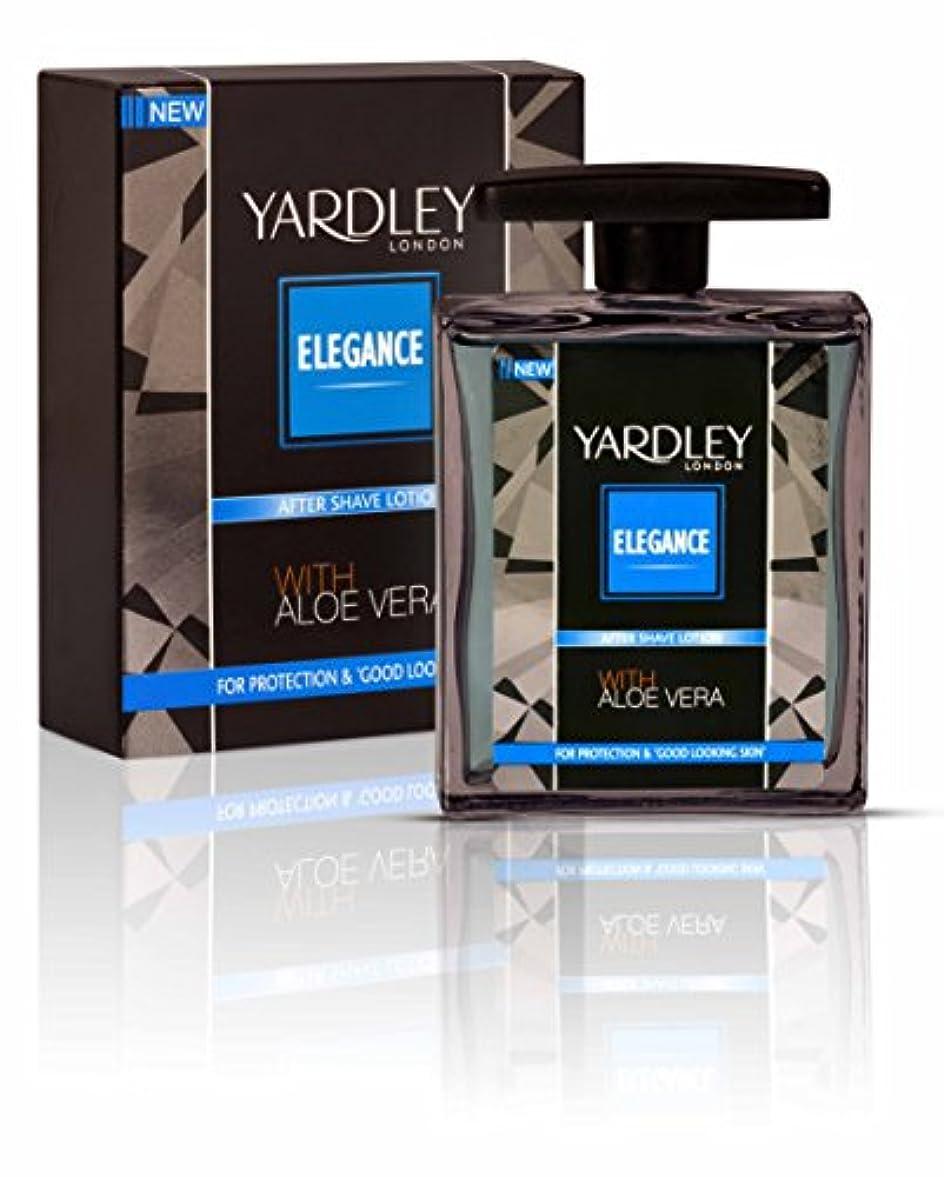 ダブル煙突タールYardley London Elegance After Shave Lotion With Aloe Vera 50ml