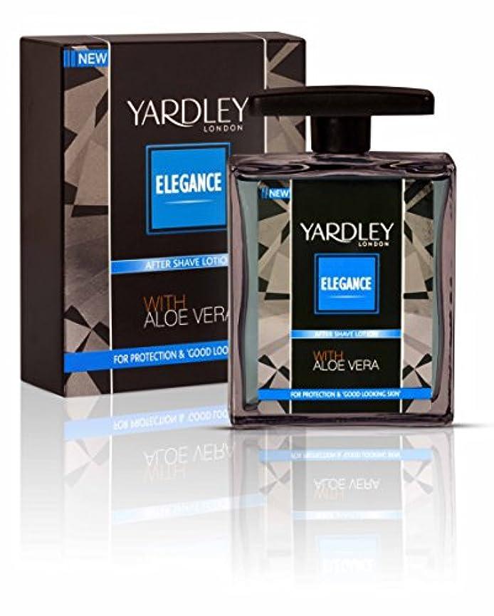 局スーパーマーケット発症Yardley London Elegance After Shave Lotion With Aloe Vera 50ml