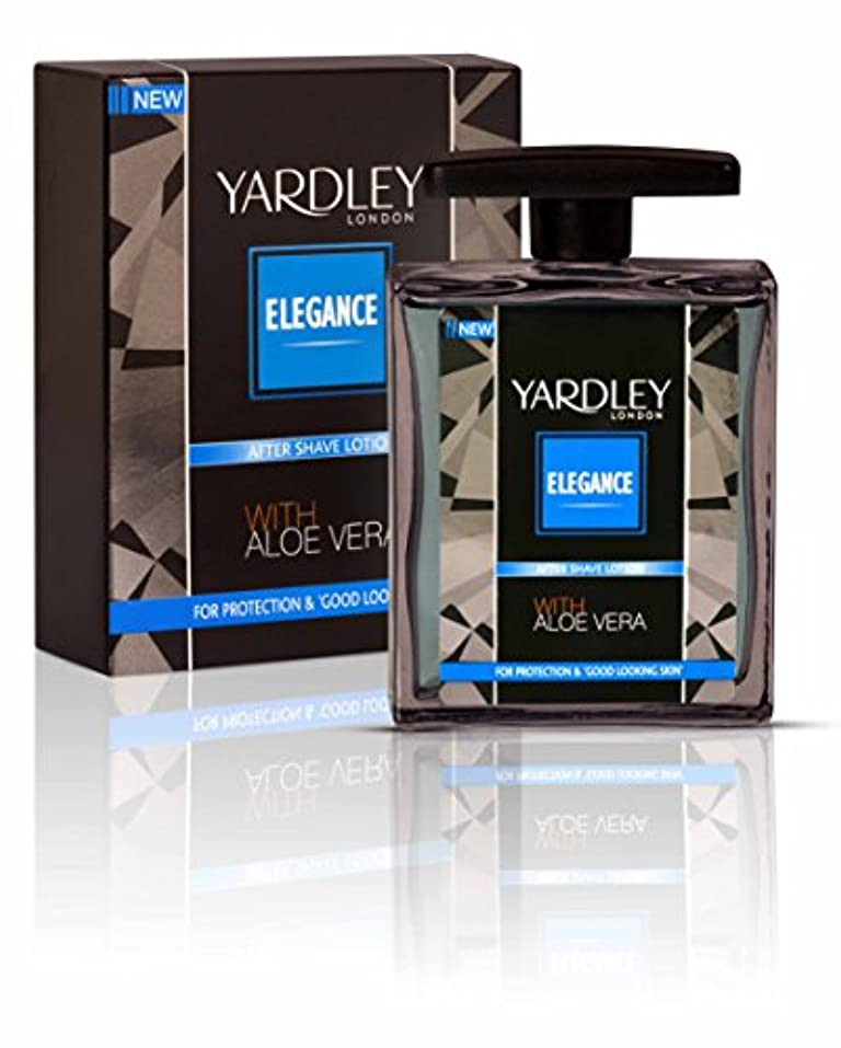 剃る実行する無実Yardley London After Shave Lotion Elegance 100ml by Yardley