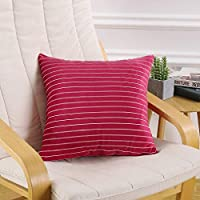 EnergyWD Pillow Insert Square Plush Home Decor Plaid ONLY for Couch, Sofa, or Bed Throw Pillow Covers AS1 45x45cm