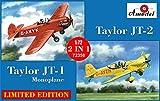 Aモデル 1/72 テイラー JT-1単葉機 & テイラーティッチ JT-2 アクロバット機 セット1 プラモデル AM72358