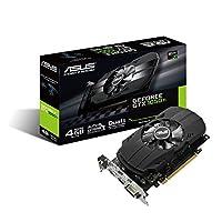 ASUSTek NVIDIA GeForce GTX1050TI搭載ビデオカード オーバークロック メモリ4GB PH-GTX1050TI-4G