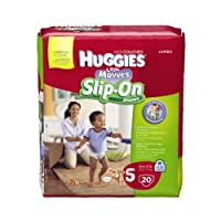 Huggies Little Movers Slip-On Diapers, Size 5, 20 Ct. by Huggies