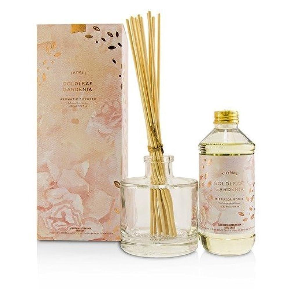 軍団黒遠えタイムズ Aromatic Diffuser - Goldleaf Gardenia 230ml/7.75oz並行輸入品