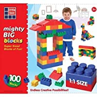 Grand Forward LBMBB508 Mighty Big Block Set, Multi Primary (100 Piece) by Grand Forward