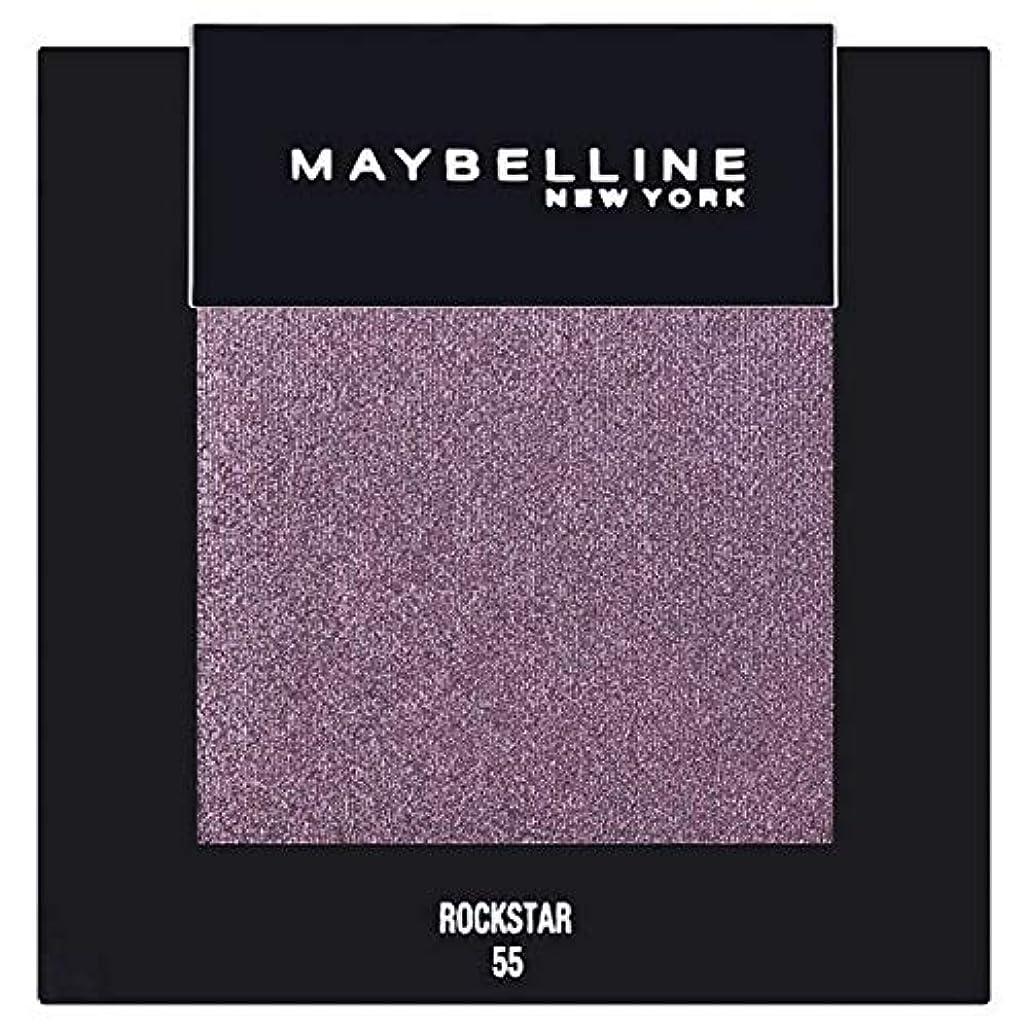 見かけ上理由実用的[Maybelline ] メイベリンカラーショーシングルアイシャドウ55ロックスター - Maybelline Color Show Single Eyeshadow 55 Rockstar [並行輸入品]