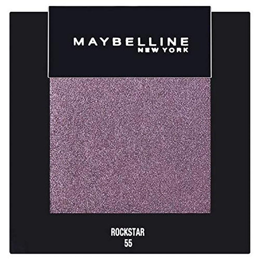 反発罰小競り合い[Maybelline ] メイベリンカラーショーシングルアイシャドウ55ロックスター - Maybelline Color Show Single Eyeshadow 55 Rockstar [並行輸入品]