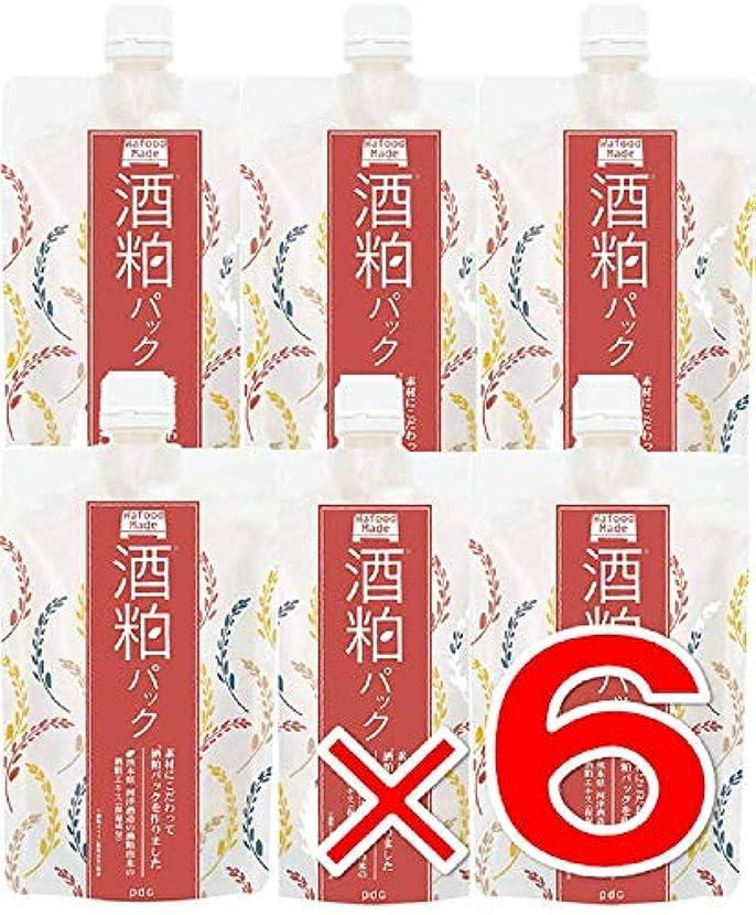 サポート取り除く熟練した【 6個 】 ワフードメイド (Wafood Made) 酒粕パック 170g 日本製