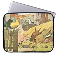 UDDESIGN子供の物語の本の家畜 ノート パソコン PC インナーケース 17-17.3 インチ ノートPC スリーブ ケース 撥水 ネオプレーン インナー バッグ 保護 ソフト カバー